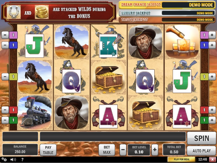 Cowboy treasure Slot Game
