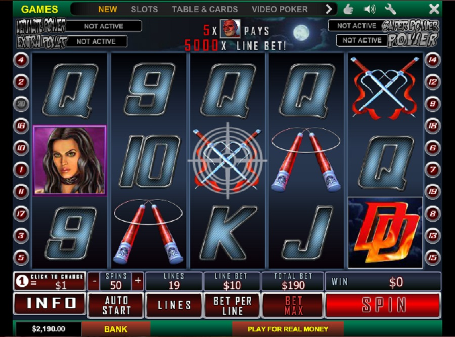 Daredevil Slot Game