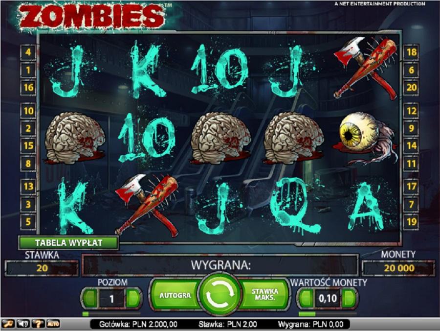 Darmowe automaty do gry Zombies