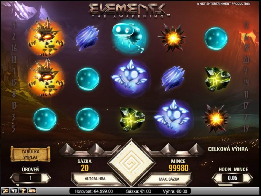 Elements Výherní Automat