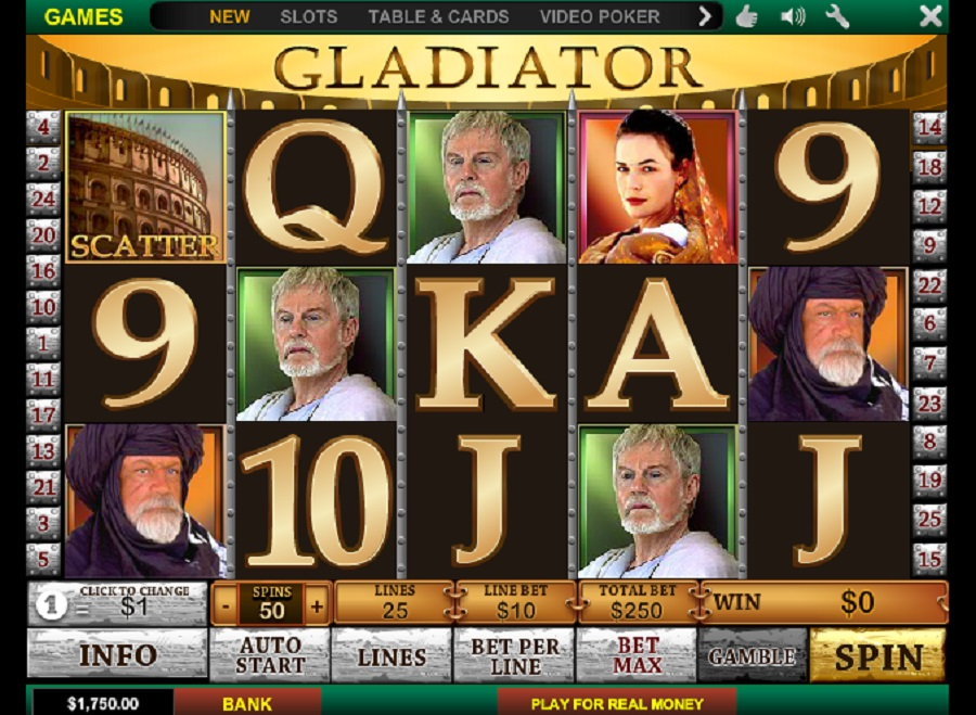 Gladiator Free Slot Game