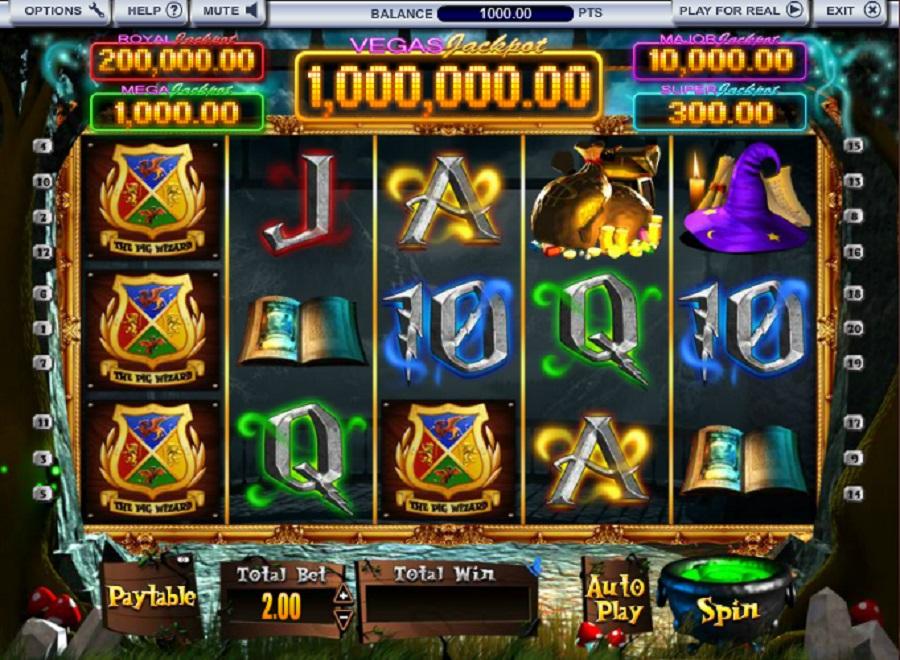 Harry Trotter Vegas Millions
