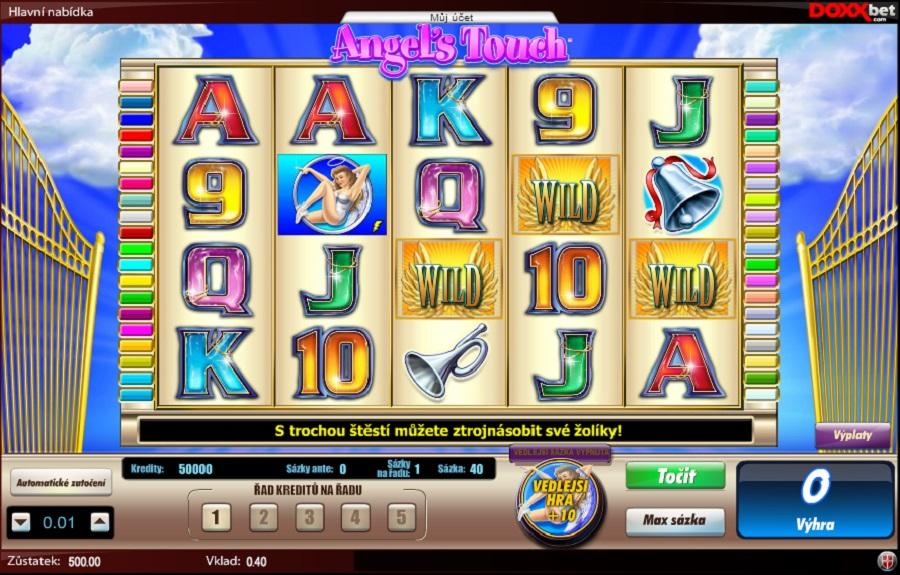 Hrací automat Angel's Touch