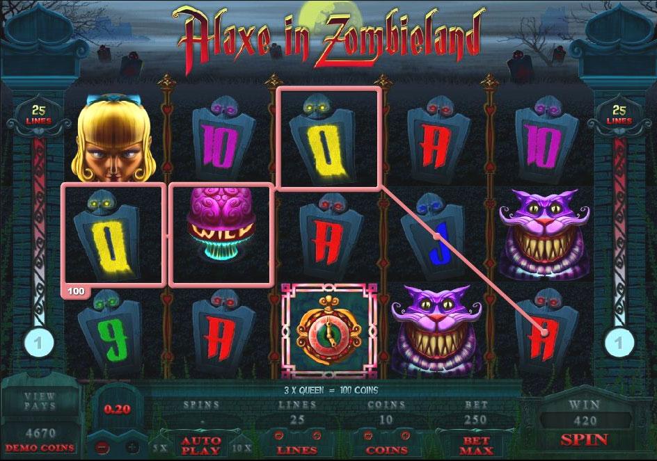 Maszyny do gry Alaxe in Zombieland