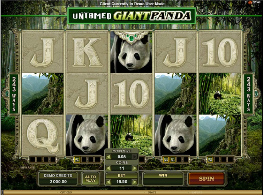 Jednoręki Bandyta Gry Giant Panda