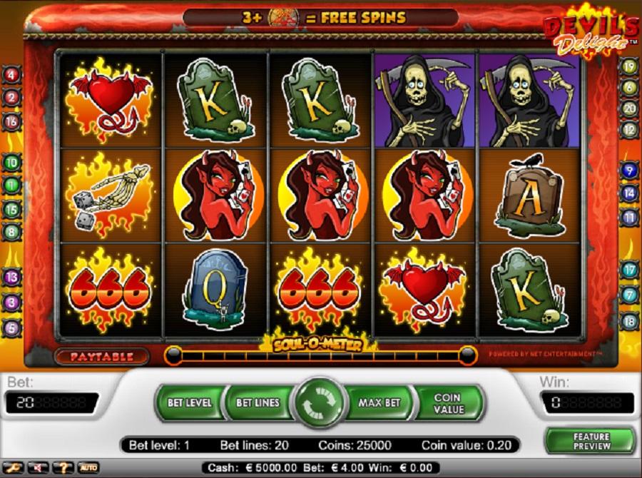 Online Slot Devils Delight Free