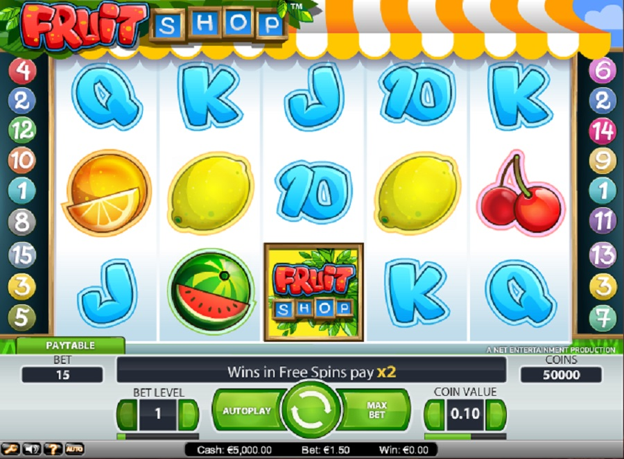 Slot Machines Fruit Shop