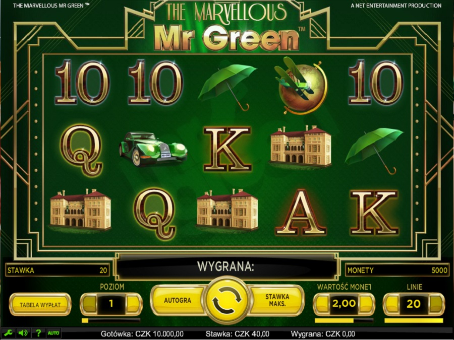 Slot The Marvellous Mr Green