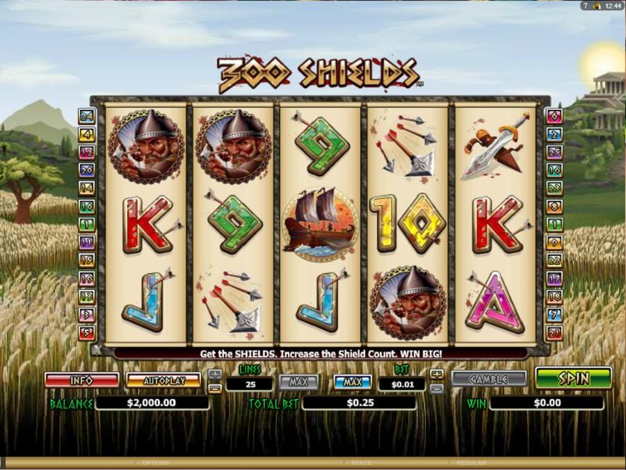 Spielautomat 300 Shields