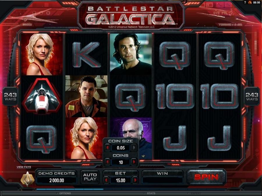 Výherný automat Battlestar Galactica