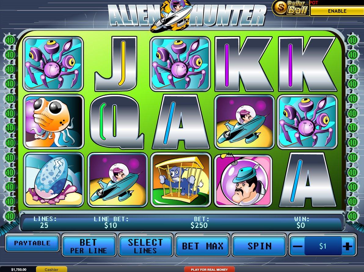 automaty do gry Alien Hunters