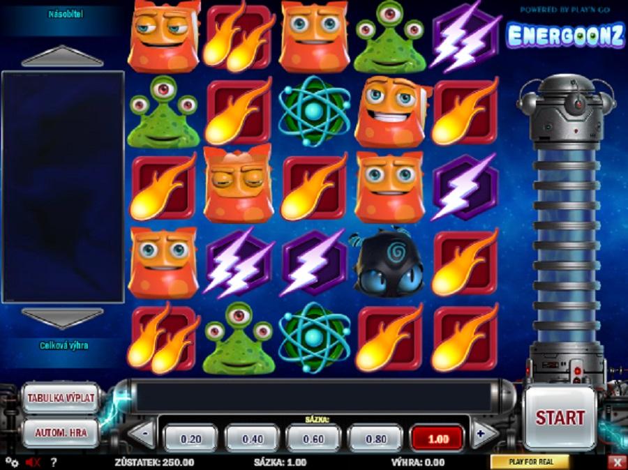 Automatová hra Energoonz