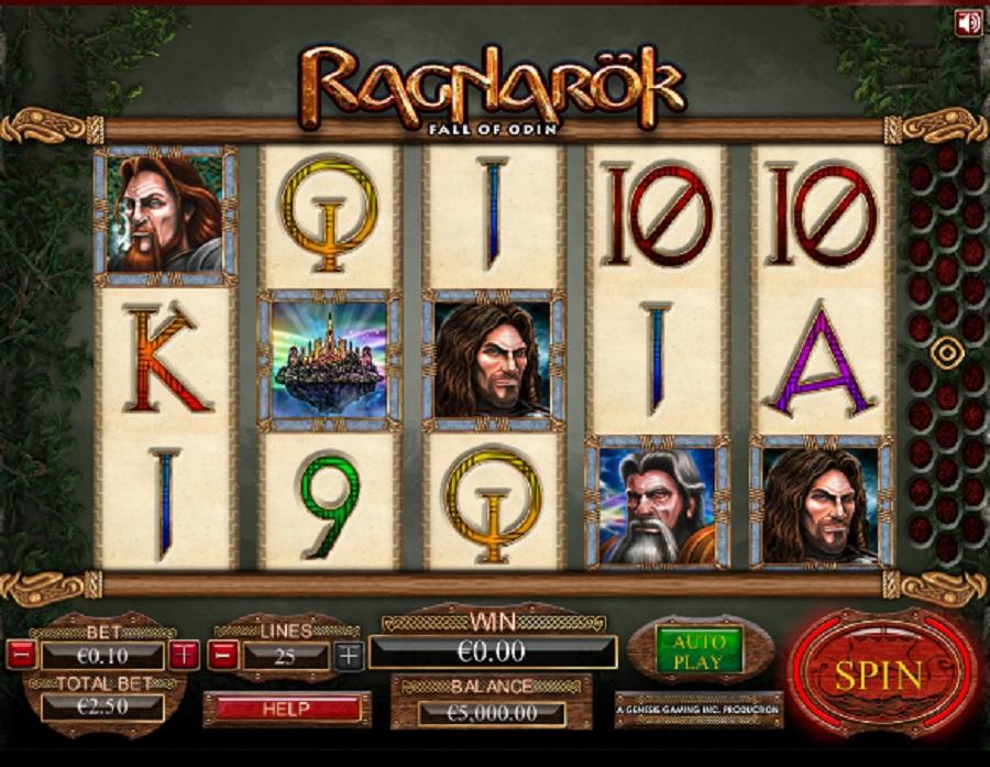Automatová hra Ragnarok