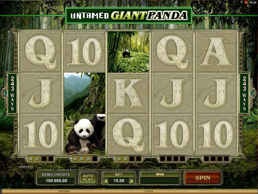 Hrací automat Giant Panda