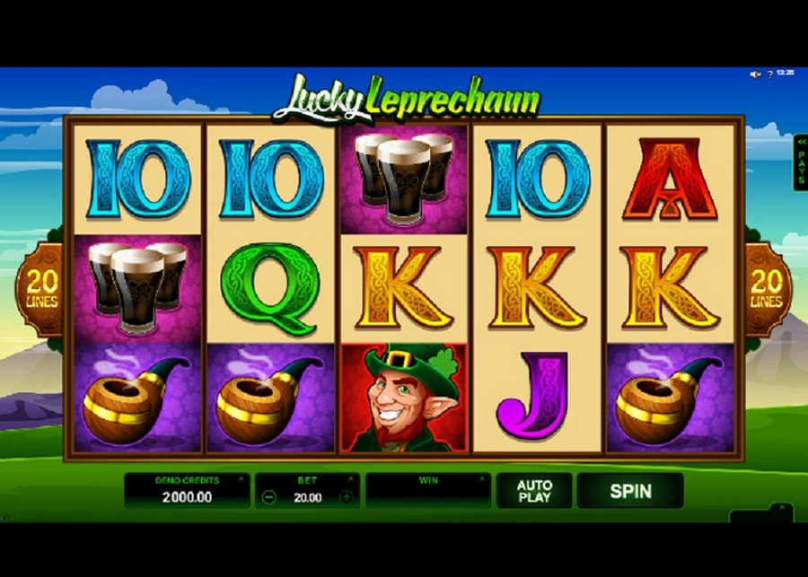 Hrací automat Lucky Leprechaun