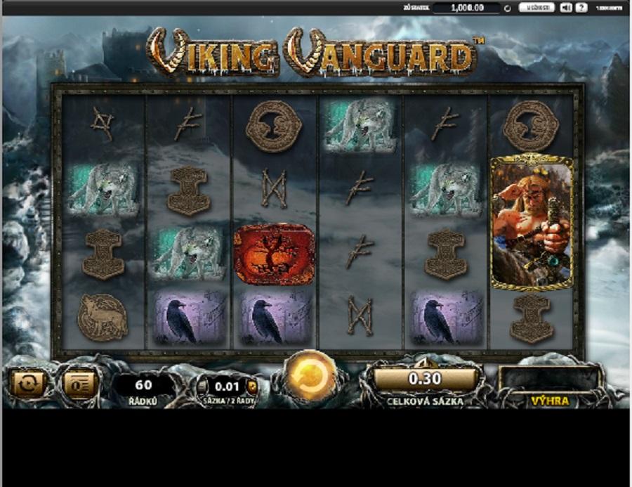 Hrací automat Viking Vanguard