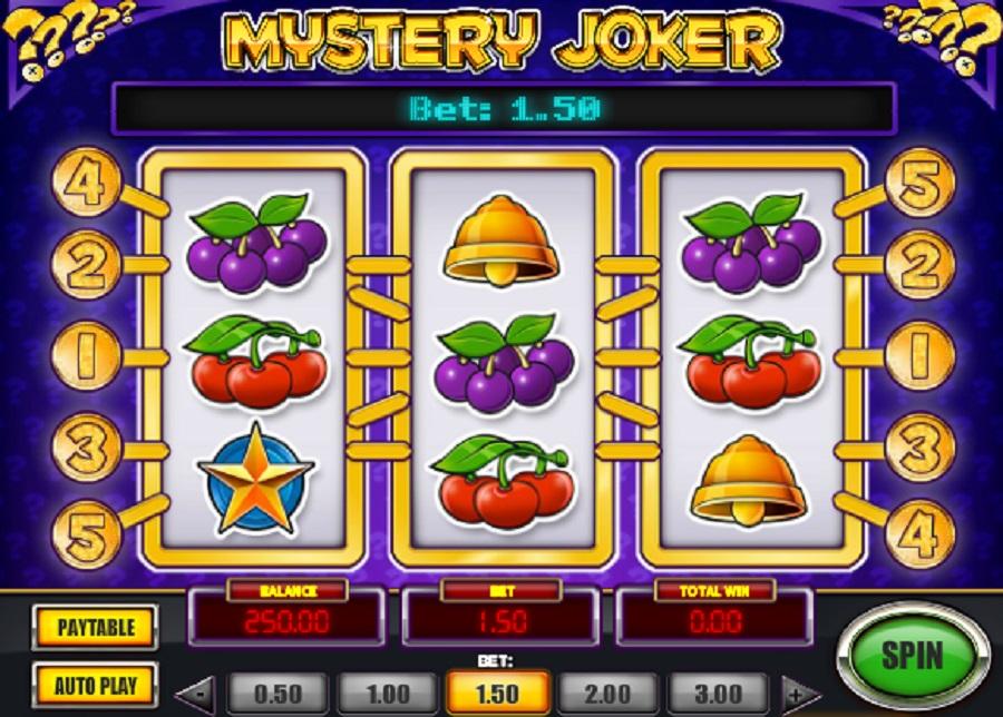 Hracie Automaty Mystery Joker