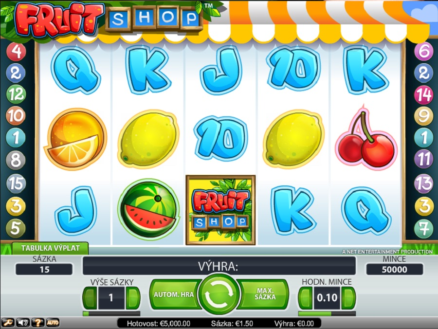 Online slot Fruit Shop