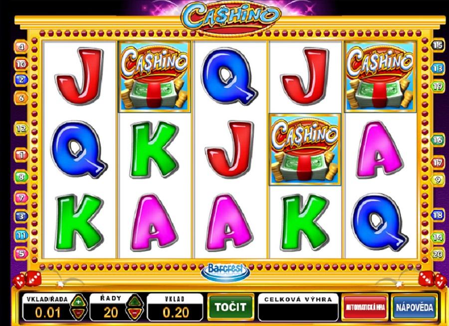 Výherné hracie automaty Cashino
