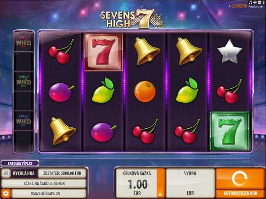 Výherný automat Seven High