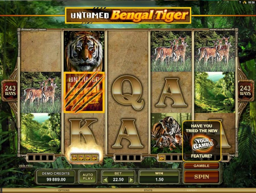 Gra slotowa Bengal Tiger