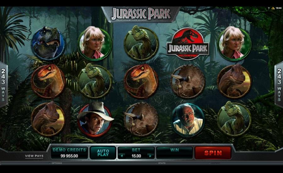Jurassic Park Slotowe gry