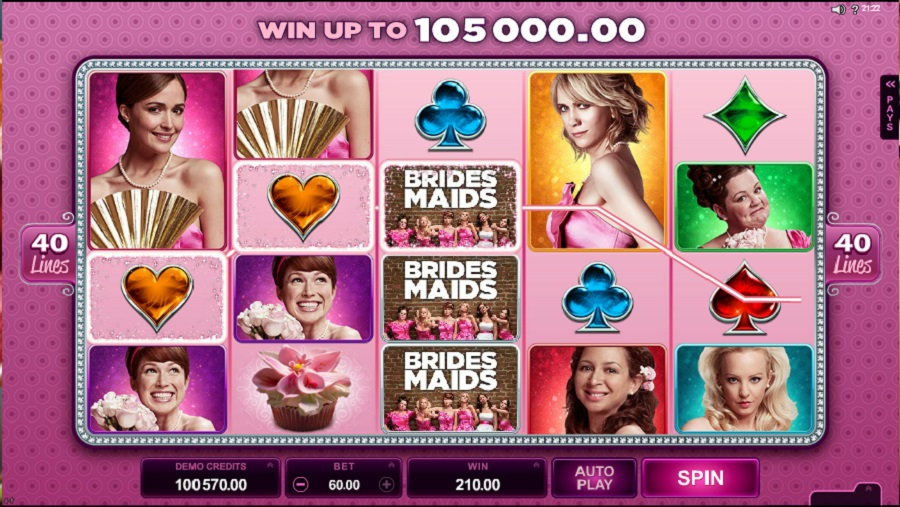 Online slot machine Bridesmaids