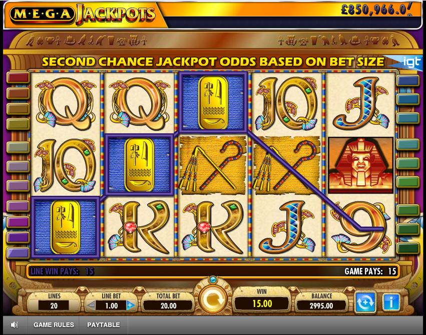 Mega Jackpot Cleopatra