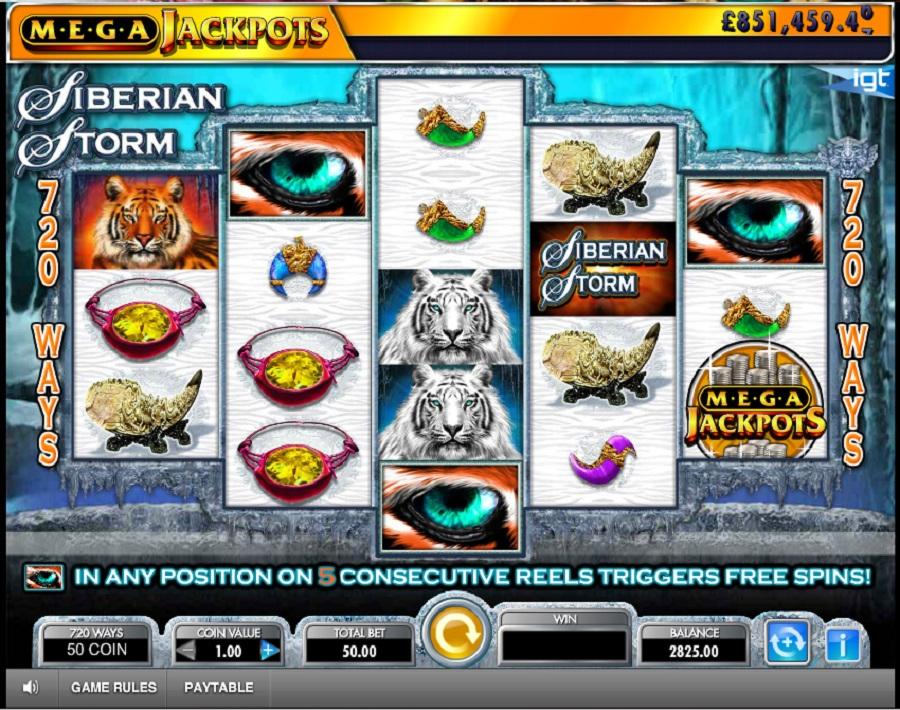 Online slot Siberian Storm