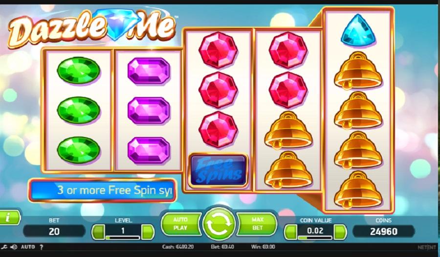Slot Dazzle Me