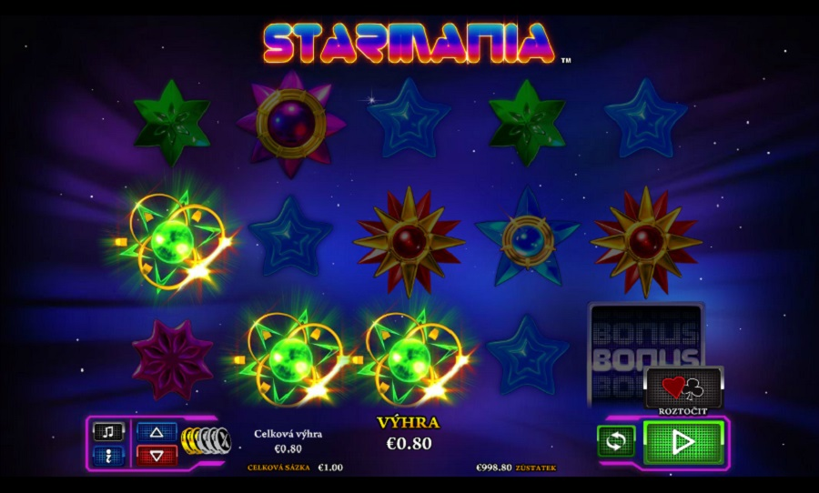 Hrací automat Starmania