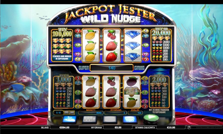 Jackpot Jester Wild Nudget