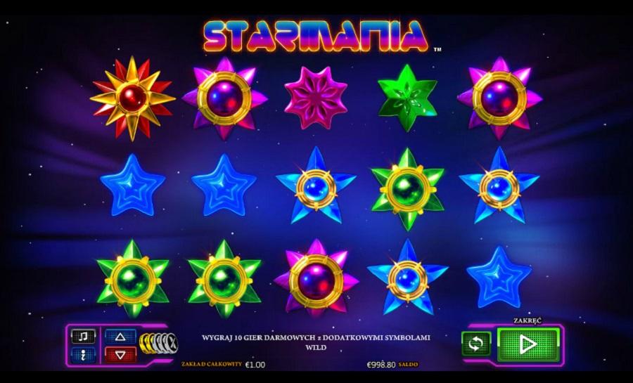 Slotowe gry Starmania