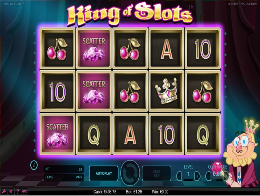 Automaty do gry King of Slots