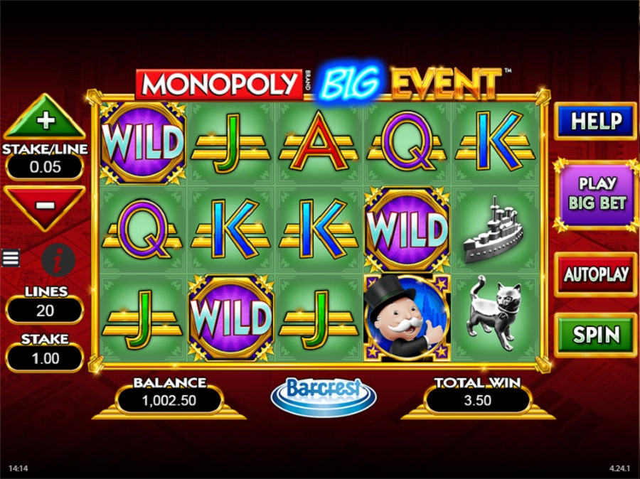 Automaty do gry Monopoly