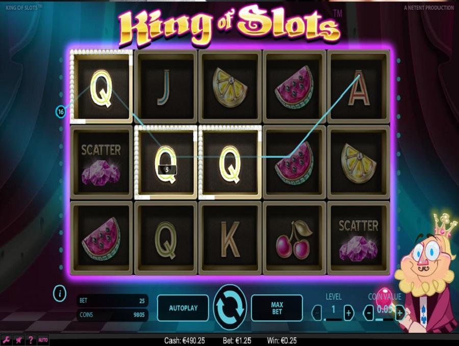 Hrací automat King of Slots