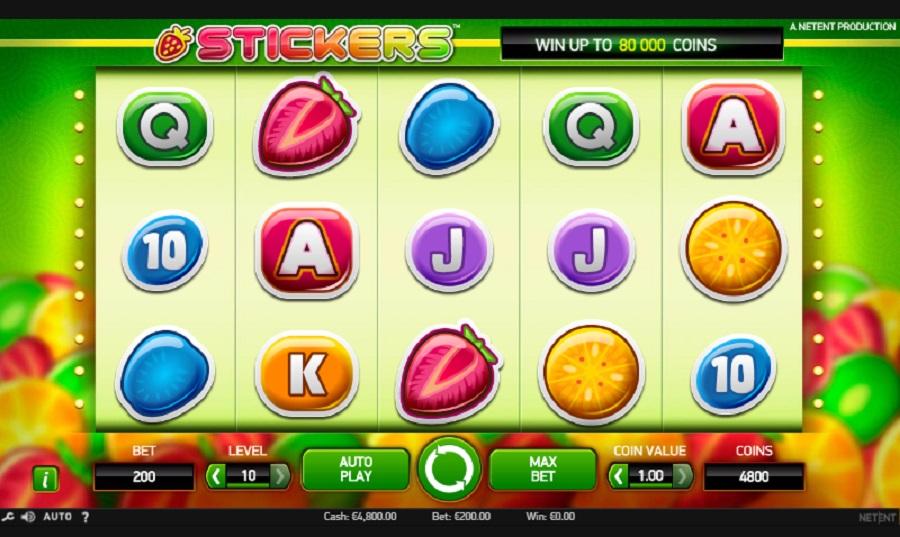 Online Slot Stickers