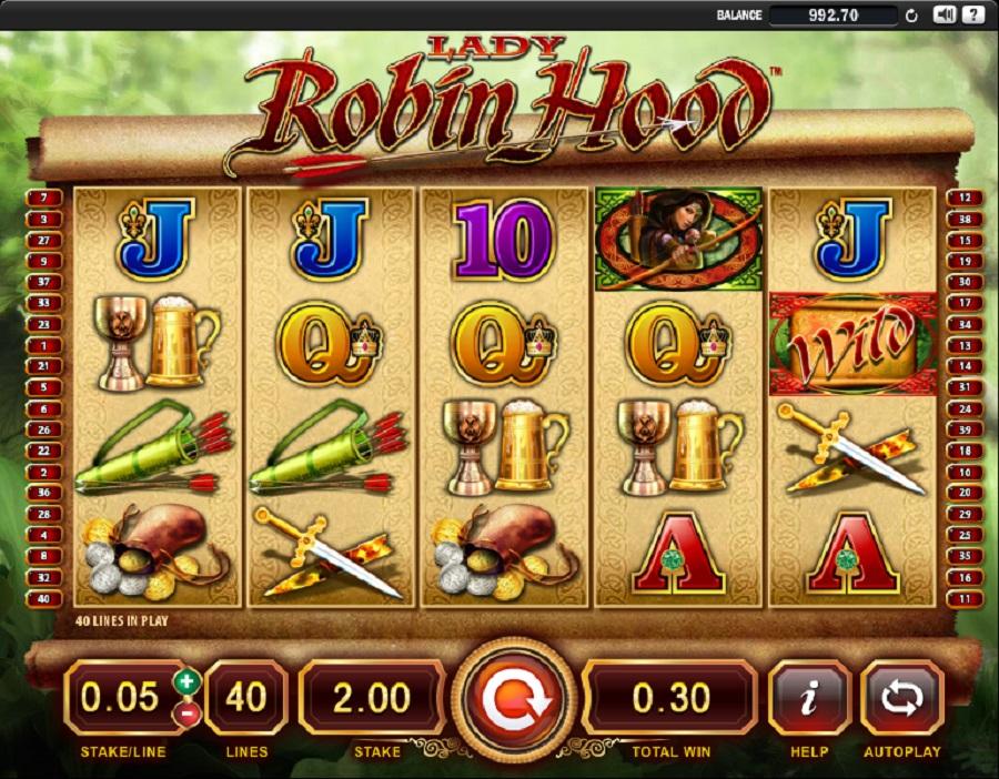 Online slot Lady Robin Hood