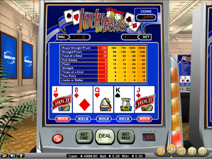 Online slot Machine Jacks or Better