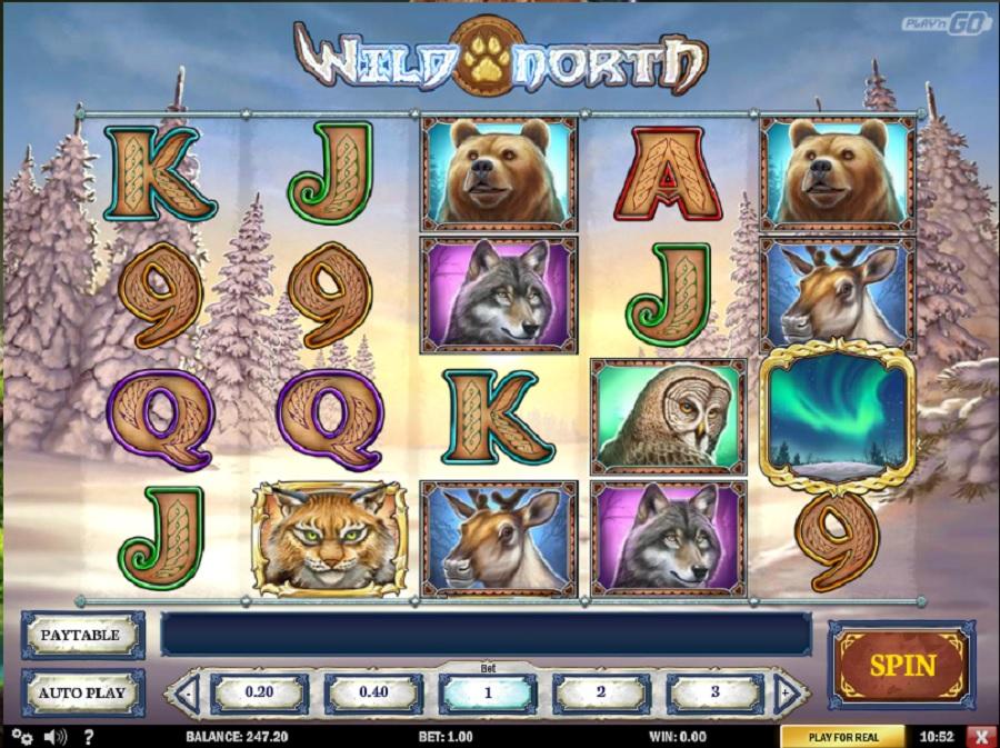 Online slot Wild North