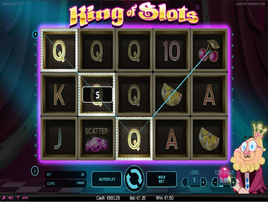 Online slot machine King of Slots