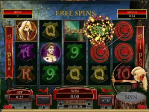 Online slot machine Robyn