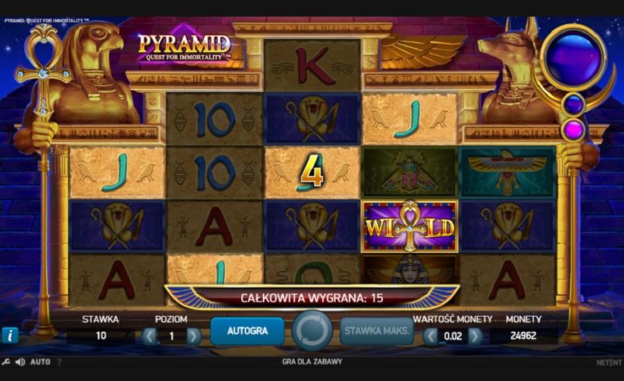 Slotowe gry Pyramid