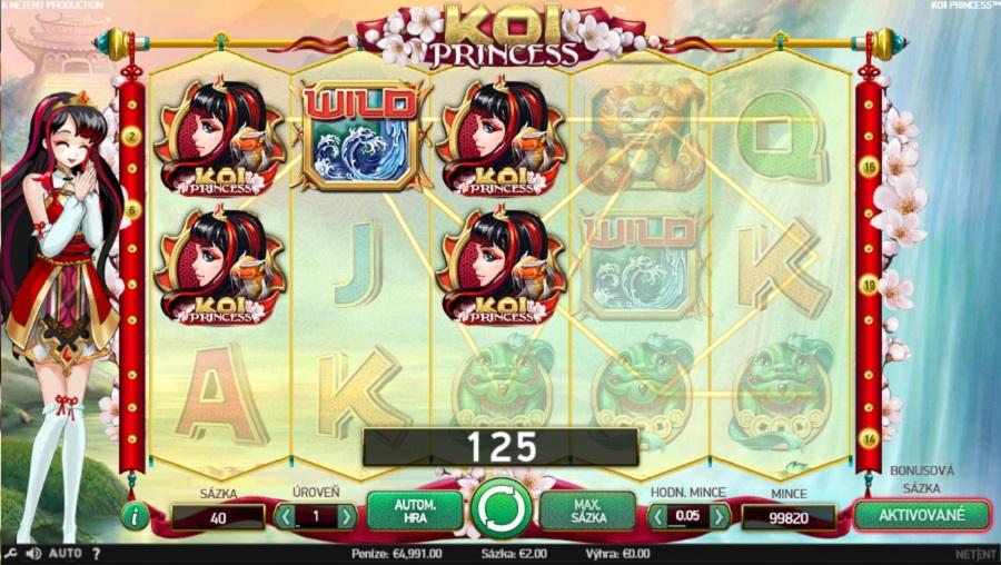 Výherný automat Koi Princess