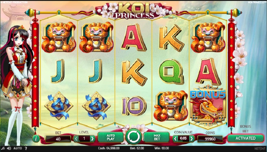 Online slot Koi Princess