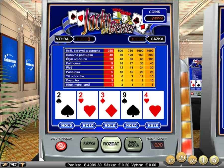 Videopoker Jacks or Better