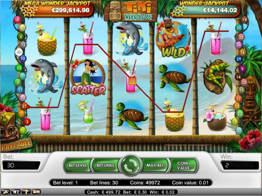 Automatová hra Tiki Wonders