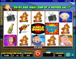 Hrací automat Family Guy