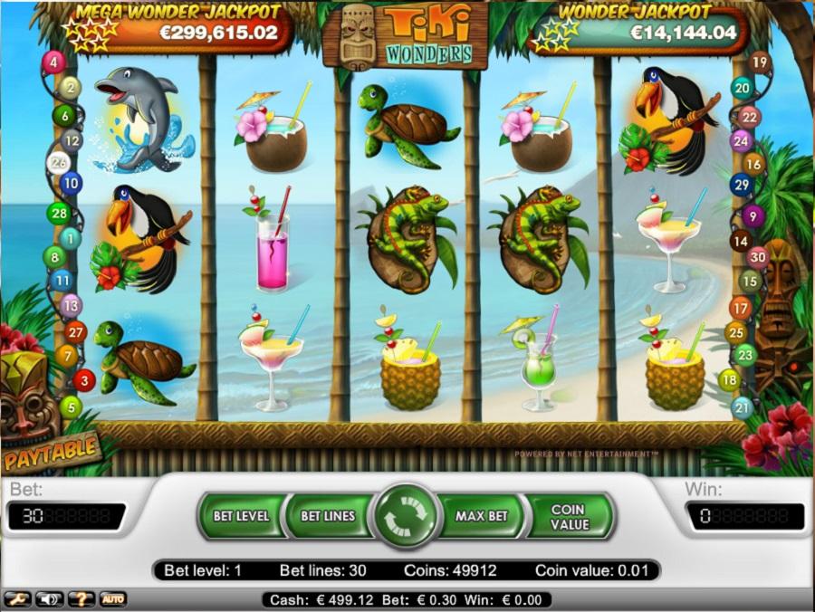 Hrací automat Tiki Wonders