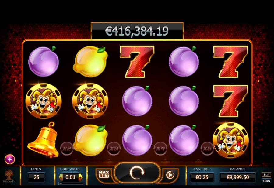 Joker Millions automat